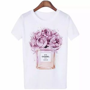 🌺🌸Tribute to No. 5 White Floral Tee🌸🌺